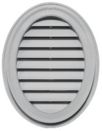 Oval Exterior Wall Vent